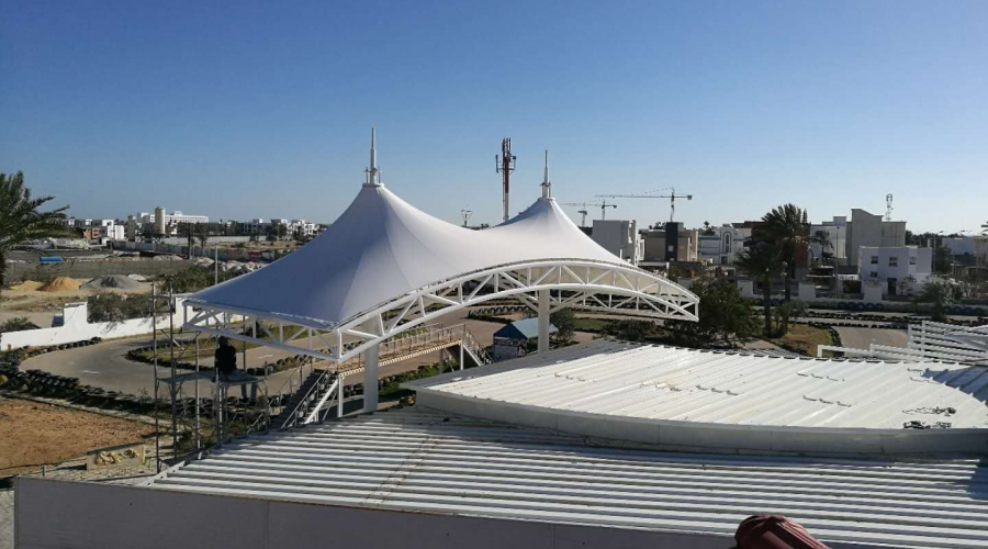 Tunisia Dia 30m wedding membrane structure