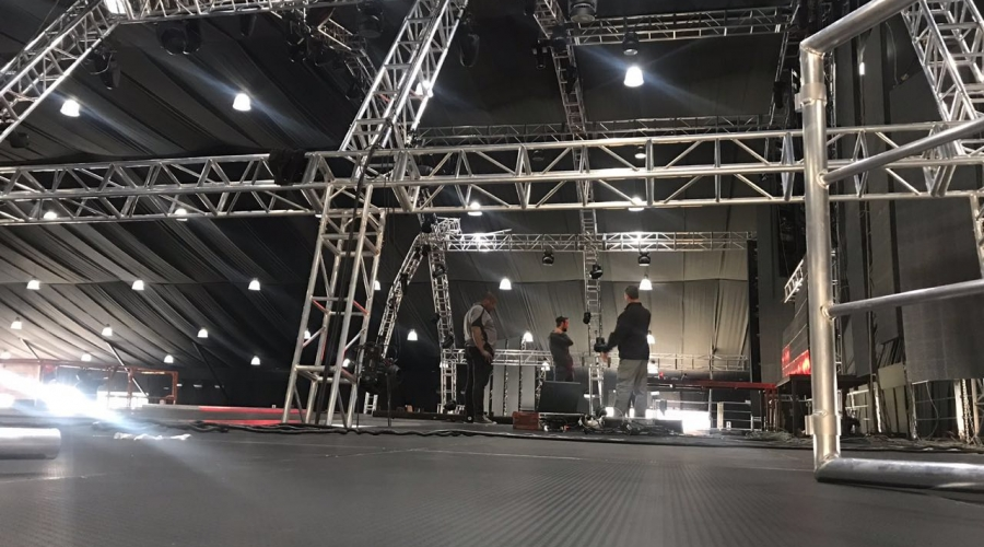 South Africa Arched truss for concert