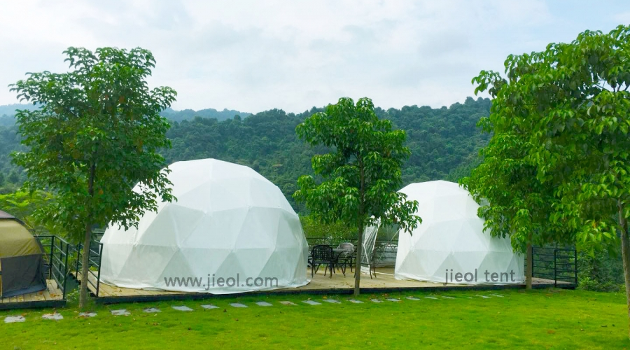 Enjoy your life with jieol camping dome  tent
